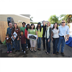 Random image: CloseThe Foundation Lane proud homeowners celebrated the completion of all four homes with Jimmie and Chandra during the Parade of Homes Event (El Cajon, 2009).
