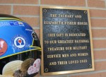 Blue Bunny Helmet of Hope at the Fisher House (Rockville, 2012)