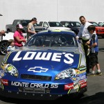 Random image: Fans enjoyed checking out the No. 48 Show Car (June 19, 2012)