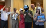 Fisher House employees love their Blue Bunny ice cream (Rockville, 2012)
