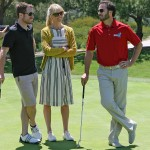 Chandra, Jimmie and fellow NASCAR driver Brian Vickers talk golf strategy (San Diego, 2012)
