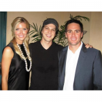Jimmie and Chandra with the evening's special musical guest, Gavin DeGraw (San Diego, 2007).