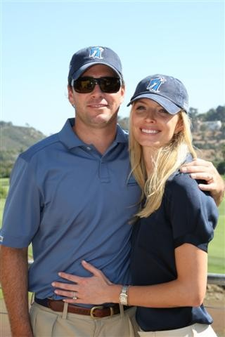 Jimmie and Chandra at the Golf Tournament (San Diego, 2008).