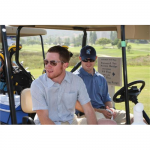 NASCAR drivers Brian Vickers and Casey Mears pair up at the tournament (San Diego, 2008).