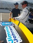 Jarit and Jimmie discuss the Sunoco 150 at Dover International Speedway (September 2009)