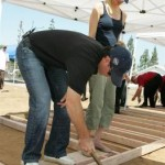 Random image: Jimmie and Chandra work on the framing for the second Habitat for Humanity Home (San Diego - August 2008).
