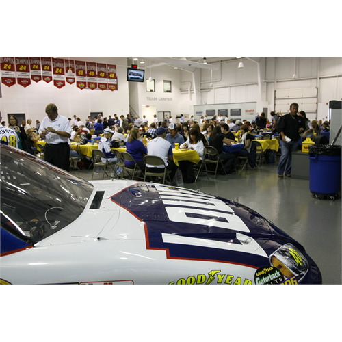 The No. 48 Lowe's Chevrolet made a guest appearance at Foundation Fest (Charlotte, 2010)