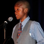 Emerald Middle School student JT shares how the foundation grant his school received has made a difference in his life. (San Diego, 2011).