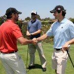 Random image: Jimmie greets participants at the 5th Annual JJF Golf Tournament. (San Diego - June 2011)