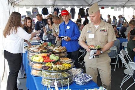 All Star Club members enjoy lunch at Foundation Fest. (San Diego, 2011)