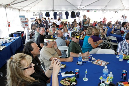 Fans enjoy lunch and a great program during Foundation Fest. (San Diego, 2011)