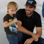 Jimmie listens as a young fan asks his question. (San Diego, 2011)