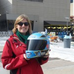 At the NASCAR Hall of Fame…of course! (Charlotte, 2012)