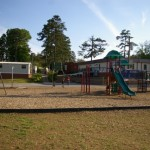 Collinswood Language Academy playground before the renovation (Charlotte, 2010)