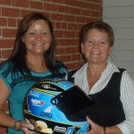 CVAN supporters with the Blue Bunny Helmet of Hope (Concord, 2012)