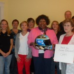 Blue Bunny Helmet of Hope and the CVAN staff (Concord, 2012)