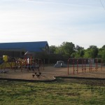 New playground at Smithfield Elementary (Charlotte, 2009)
